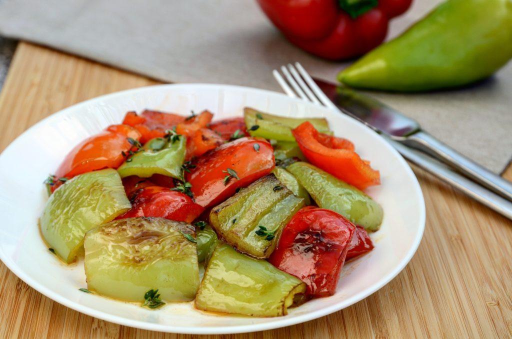 Restované papriky