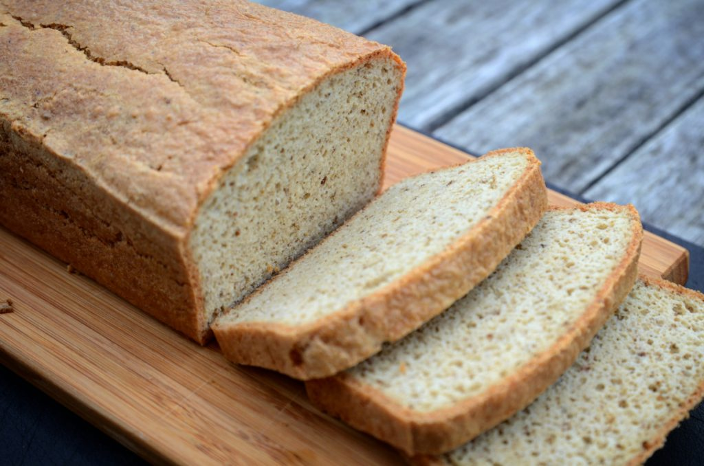 Chlebík z mandlové mouky