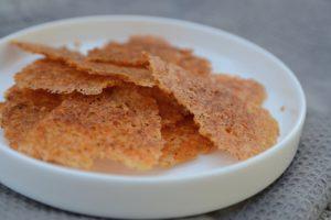 Parmezánové chipsy